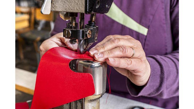 Des cuirs et des matières premières de qualité