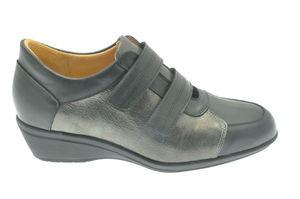Florine chaussures à scratch avec semelle amovible