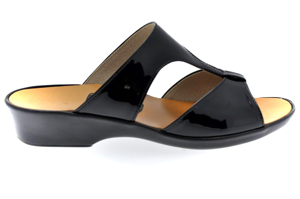 solange mule vernis noir r f 001 01 01 01 chaussures femme mule chaussures lady. Black Bedroom Furniture Sets. Home Design Ideas