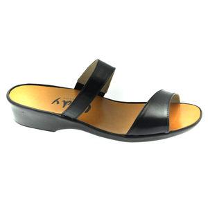 Acheter Alba mule fines bandes Noir au meilleur prix