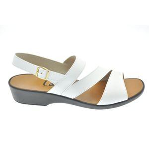 Acheter Sasha nu-pied Blanc au meilleur prix