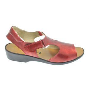 Acheter Axane nu-pied Lux carmin au meilleur prix
