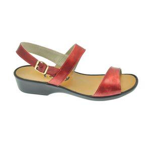 Acheter Morgane sandale Lux carmin au meilleur prix