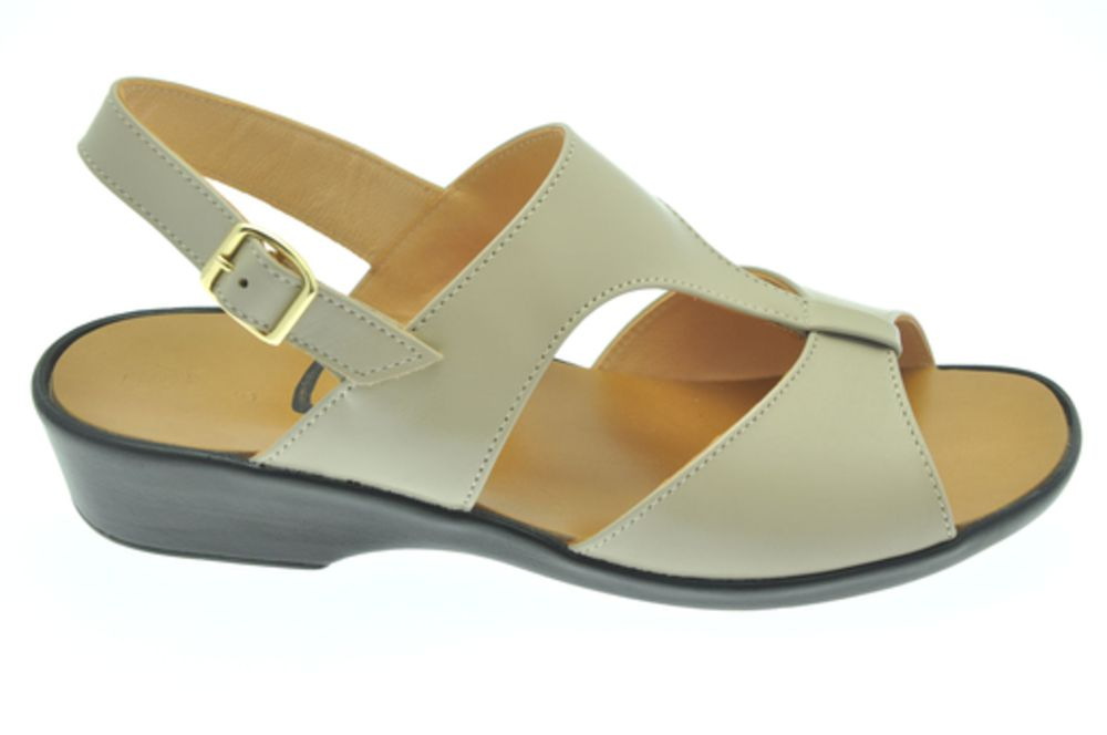 solbride sandale en cuir tannage v g tal beige v g tal r f chaussures femme. Black Bedroom Furniture Sets. Home Design Ideas