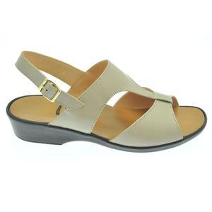 Acheter Solbride sandale en cuir à tannage végétal Beige végétal au meilleur prix