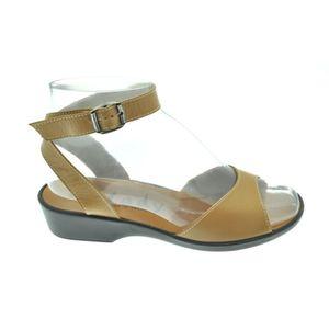 Acheter Estelle sandale attachée autour de la cheville Camel au meilleur prix