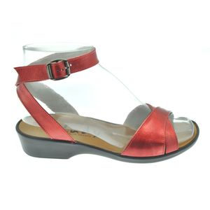 Acheter Eva sandale attachée autour de la cheville Lux carmin au meilleur prix
