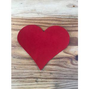 Acheter Carte de v½ux en cuir Rouge MC au meilleur prix