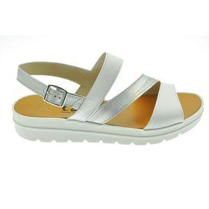 Acheter Petra sandale 3 bandes Blanc/nacré au meilleur prix