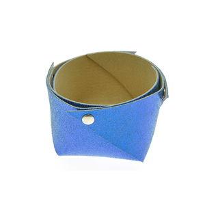 Acheter Corbeille en cuir petit modèle Mosa Bleu au meilleur prix