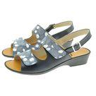 Dany sandale réglable par velcro Soft marine/Marine