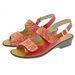 Acheter Dany sandale réglable par velcro Vag rouge/rouge au meilleur prix