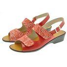 Dany sandale réglable par velcro Vag rouge/rouge