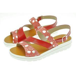 Acheter Petra sandale 3 bandes Soft rouge/Rouge au meilleur prix
